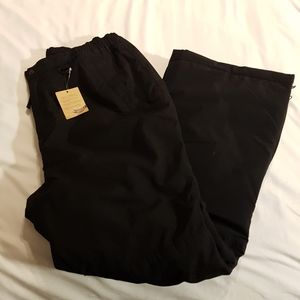 Land's End 16+ The Squall black pants